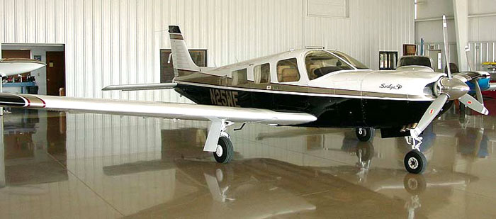 1981 Piper Saratoga Airplane