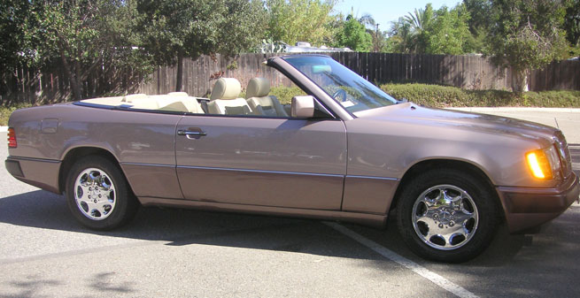 1993 Mercedes 300 CE Cabriolet