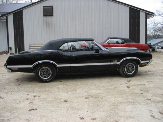 1970 Olds 442 W30 Convertible