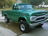 1960 Mercury M250 Pickup