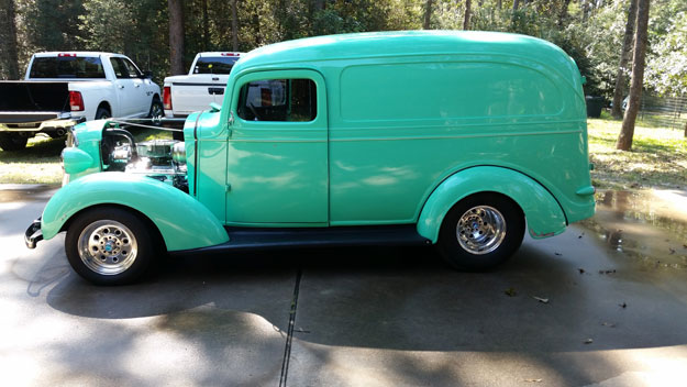 1937 Chevy Panel Truck