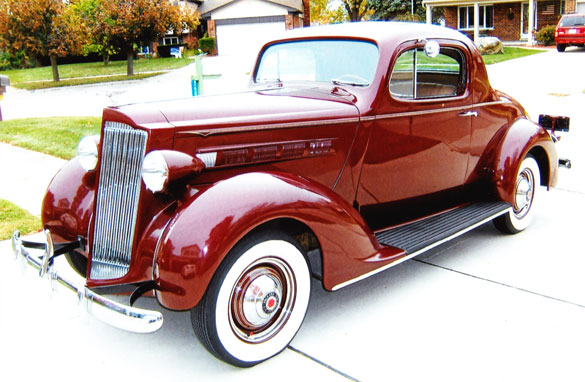 1937 Packard 115-C Coupe