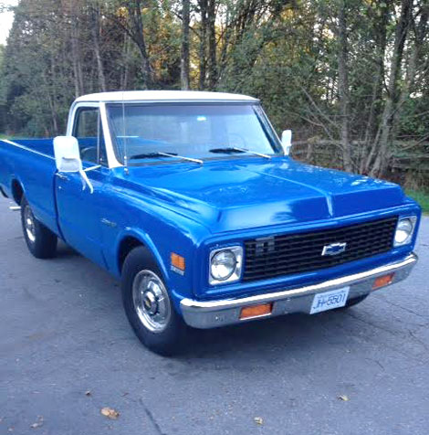 1971 chevy c20 pickup 1972 Chevy C20 Specifications