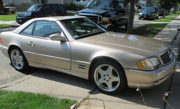 2001 Mercedes SL500 Roadster