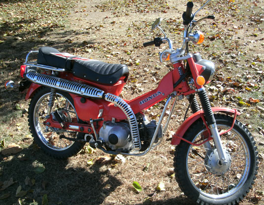 1976 Honda CT90 Motorcycle