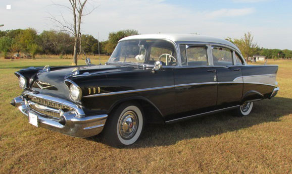 1957 chevy bel air sedan for 1957 chevy 4 door sedan