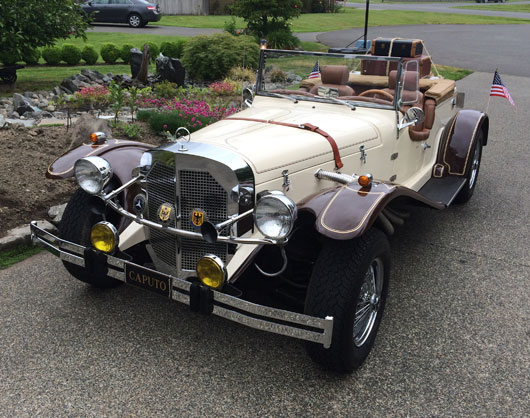 1929 Mercedes SSK Roadster Replica