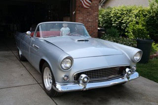 1955 Ford Thunderbird Regal Roadsters
