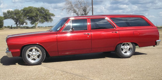 1964 Chevelle Malibu Station Wagon