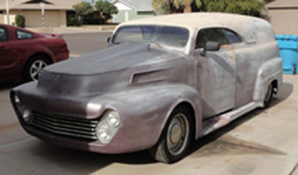 1952 Ford Panel Truck