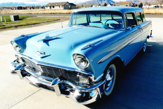 1956 Chevy Belair Nomad  Wagon