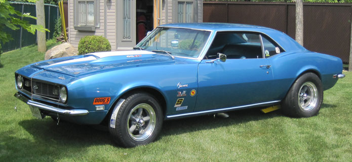 1968 Camaro Tribute Baldwin Motion