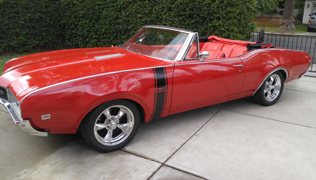 1968 Olds 442 Pro Touring Convertible
