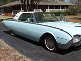 1961 Ford Thunderbird 2 Door Hardtop