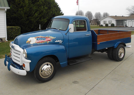1954 GMC Pickup Conversion
