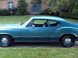 1972 Oldsmobile Cutlass Sport Coupe