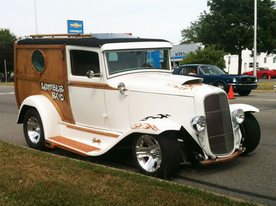 1930 Ford Sedan Delivery Woody
