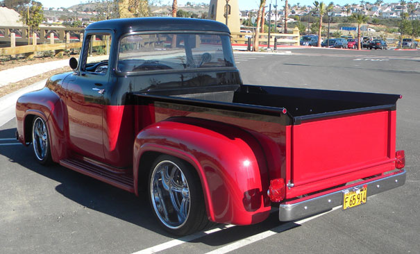 1956 ford f100 trucks for sale with big back windows for 1956 big window ford truck sale