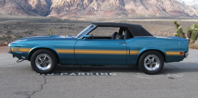 1970 Shelby GT350 Convertible Replica