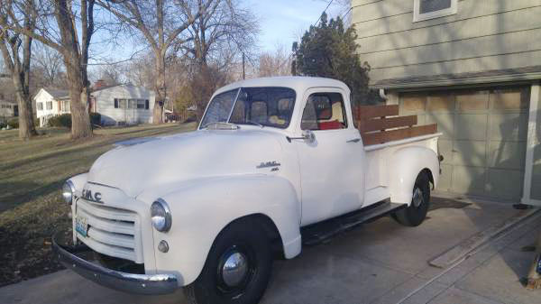 1953 GMC 1/2 Ton Pickup
