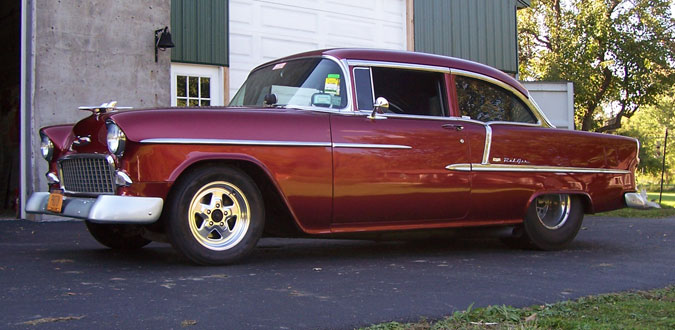 1955 Chevy Bel Air Pro Street