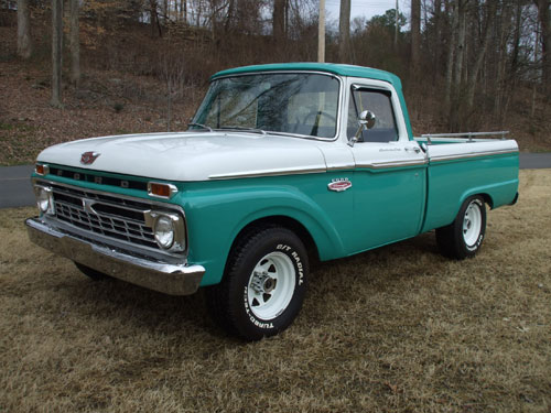 1966 Ford F100 Pickup Cars On Line Com Classic Cars For Sale
