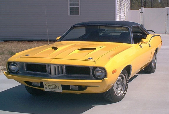 1973 Plymouth Barracuda Hardtop