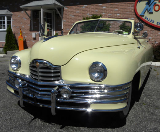 1948 Packard Super 8 Victoria Convertible