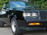 1987 Buick  Grand National WE4 Turbo T