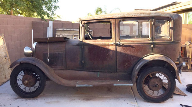1929 Ford Model A Murray Body