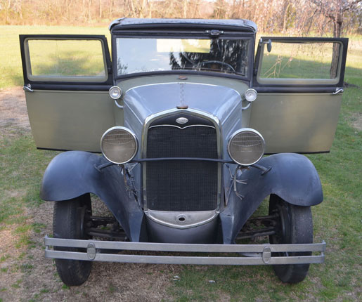 1931 Ford Vicky Coupe