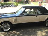 1983 Lincoln Mark VI  Bill Blass