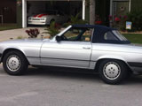 1979 Mercedes 450 SL Roadster