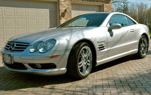 2003 Mercedes SL55 AMG Roadster
