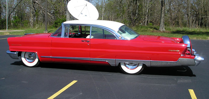 1956 Lincoln Premiere Coupe