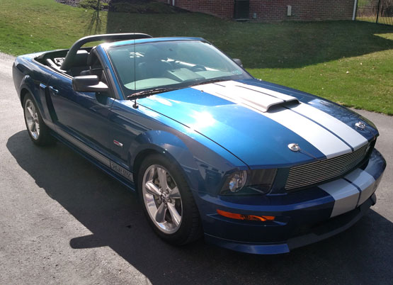 2008 Shelby GT SC Convertible
