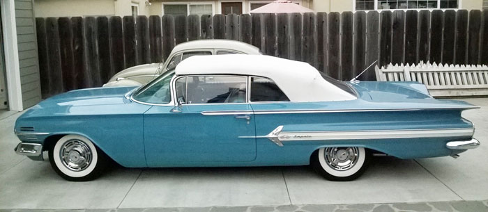 Chevy Logo Blue >> 1960 Chevy Impala Convertible