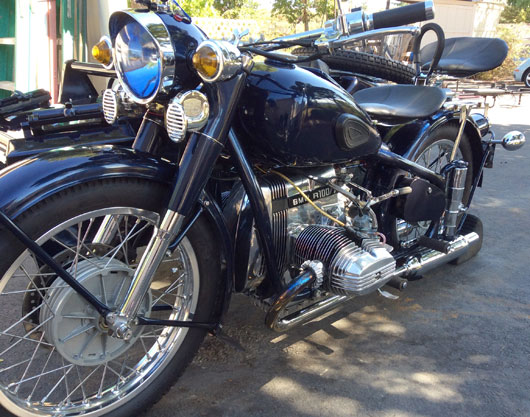 1961 BMW Chang Jang Motorcycle
