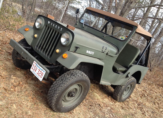1954 Willys Jeep Mahindra