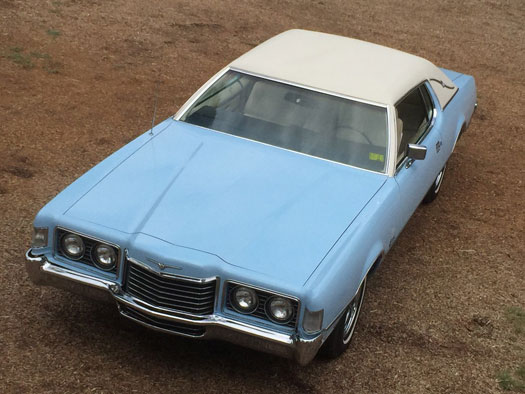 1972  Ford Thunderbird  429 Sport Coupe