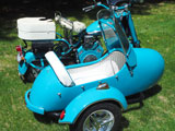 1958 Cushman  Eagle Scooter