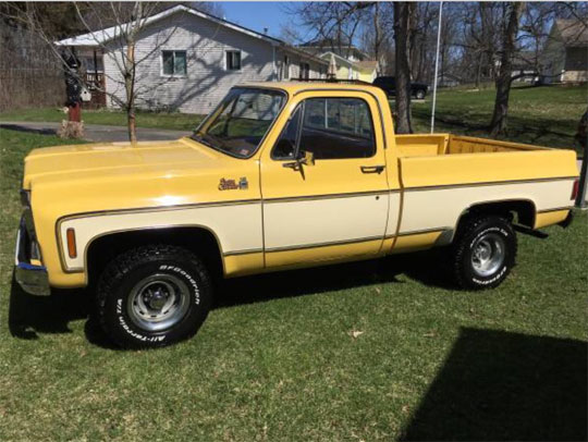 1977 GMC 1500 High Sierra 4x4