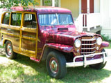 1950 Willys Jeep Overland Wagon