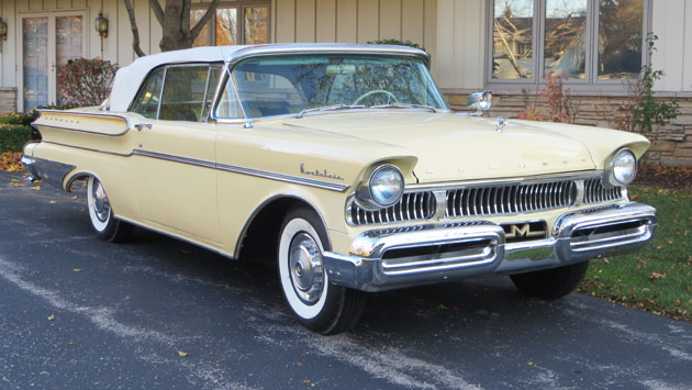 1957 Mercury Montclair Convertible