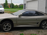 1992 Dodge Stealth R/T Twin Turbo Chasis