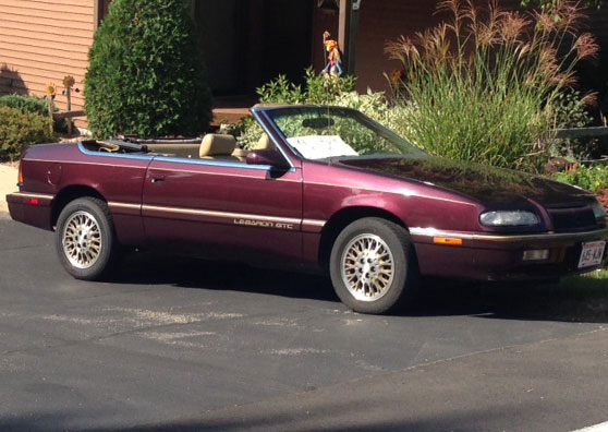1995 Chrysler Lebaron GTC Convertble