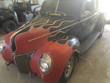 1940 Ford Opera Coupe