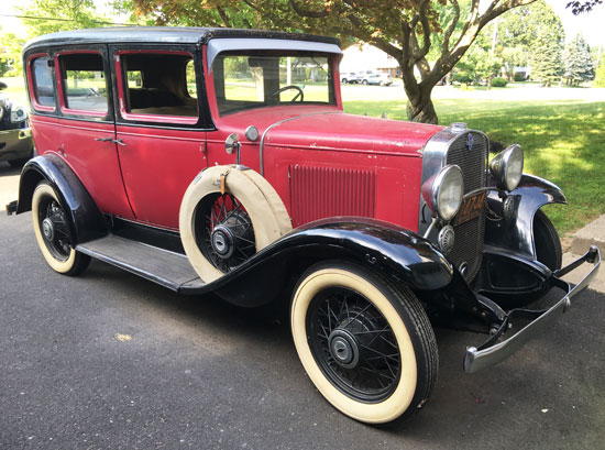 1931 chevy independence 4 door for 1931 chevrolet 4 door sedan