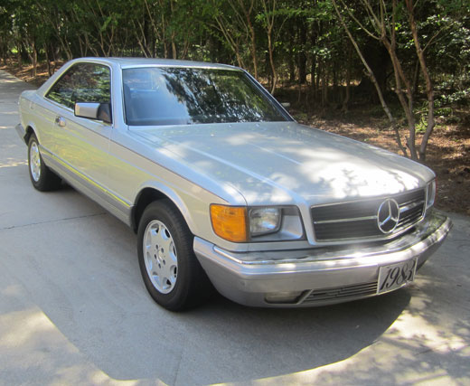 1983 mercedes benz 380sec for 1983 mercedes benz 380sec for sale