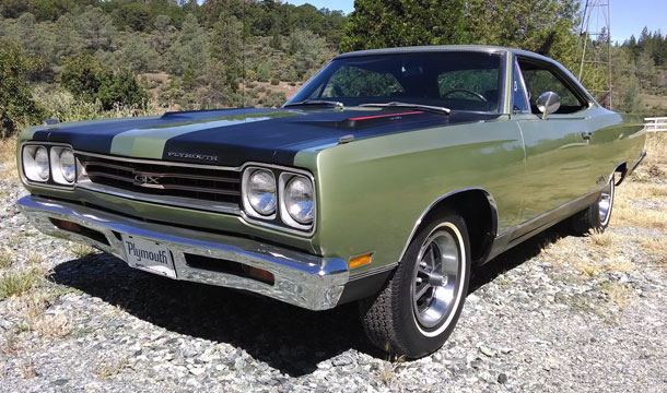 1969 Plymouth Satellite GTX